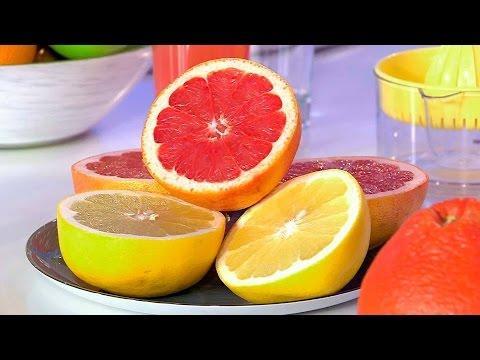 Жить здорово! Грейпфрут против остеопороза. (04.10.2016)