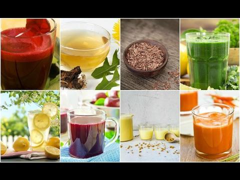 Пей это утром и ИЗБАВЬСЯ ОТ ТОКСИНОВ и ЛИШНЕГО ВЕСА ЗА 2 НЕДЕЛИ! 8 супер напитков!