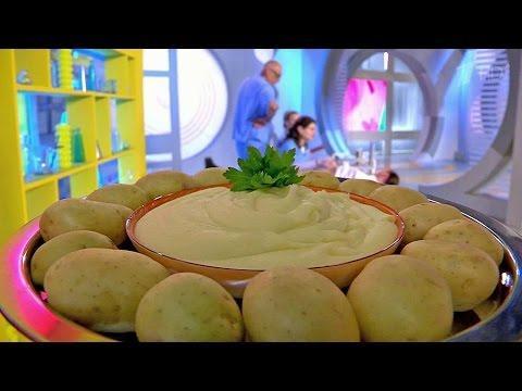 Жить здорово! Картошка быстрого приготовления против картофельного пюре. (08.09.20160