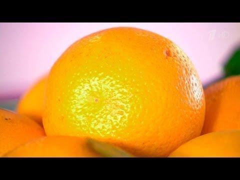 Жить здорово!Что здоровее? Апельсин против мандарина.  (22.12.2015)