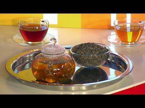 Что здоровее. Черный чай против зеленого.  Жить здорово! (27.11.2015)
